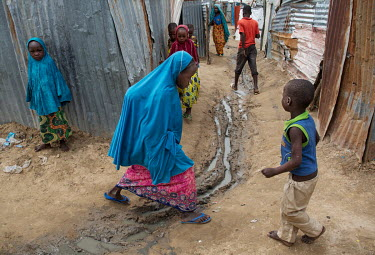 In one of Dikwa's IDP camps, up to 6,500 displaced people are struggling to exist in after fleeing from their homes due to the actions of Boko Haram.
