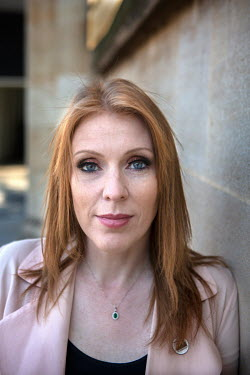 Labour MP Angela Rayner, in Victoria Gardens next to the House of Commons.