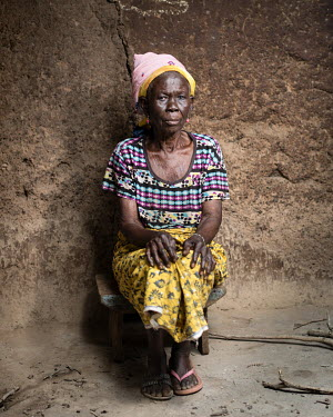 Azara Wumbi (61) has been accused of being a witch. 80 women accused of witchcraft stay at Kukuo Village. Many of them have mental health conditions, the reason they were accused of being witches. Som...
