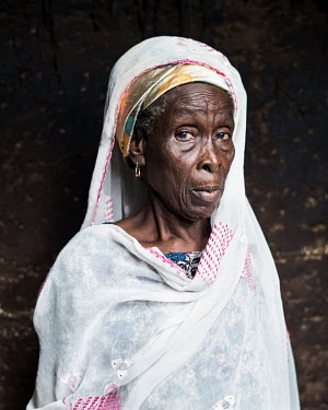 Safia Wumbi (69) has been accused of being a witch. 80 women accused of witchcraft stay at Kukuo Village. Many of them have mental health conditions, the reason they were accused of being witches. Som...