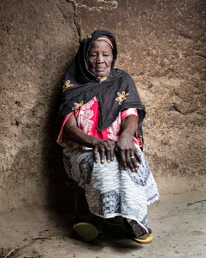 Wumbi Yindana (71) has been accused of being a witch. 80 women accused of witchcraft stay at Kukuo Village. Many of them have mental health conditions, the reason they were accused of being witches. S...