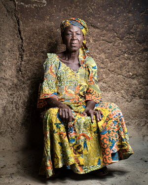 Alhassan Sana (68) has been accused of being a witch. 80 women accused of witchcraft stay at Kukuo Village. Many of them have mental health conditions, the reason they were accused of being witches. S...