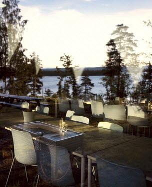 The new cafeteria on Utoya island where many young people were killed on 22 July 2011 by Anders Behring Breivik.  After the attack, AUF (the Labour Party�s youth league) rebuilt the cafeteria. Eigh...