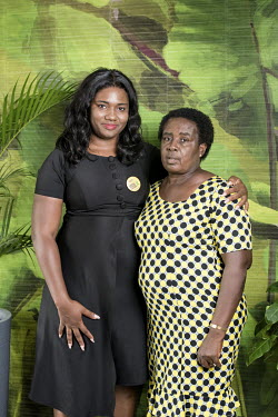Nana Abena Korkor Addo (29) with her mother, Judith Owusu Ababio (60), is a retired teacher. Nana is a Project Coordinator for the Mental Health Society of Ghana and founder of Psychosocial Africa, a...