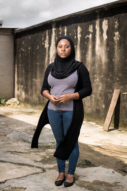 Mental Health Coach, founder of Nigerian mental health organisation She Writes Woman and mental health advocate Hauwa Ojeifo.