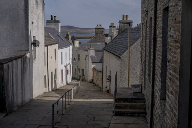 A back street in Stromness.