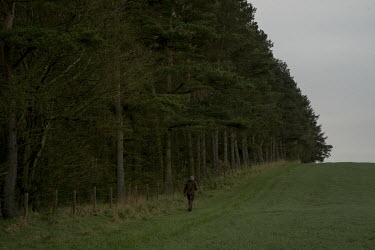 Kenny Horne the head Gamekeeper at Teasses estate in Fife goes out in the early morning to control foxes and deer. The Teasses Estate covers 1,100 acres, it organises pheasant, duck and partridge shoo...