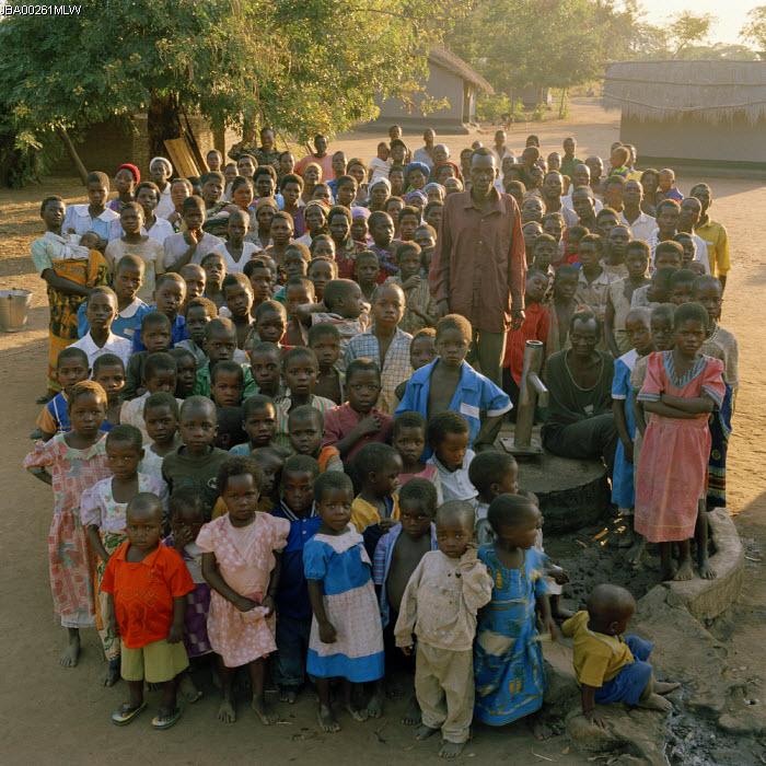 Dickson, an African village