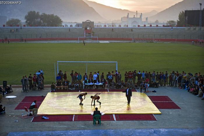 Wrestling Kabul