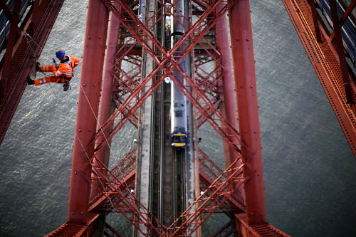 Painting the Forth Bridge