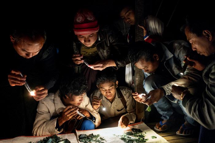Myanmar's Green Curse